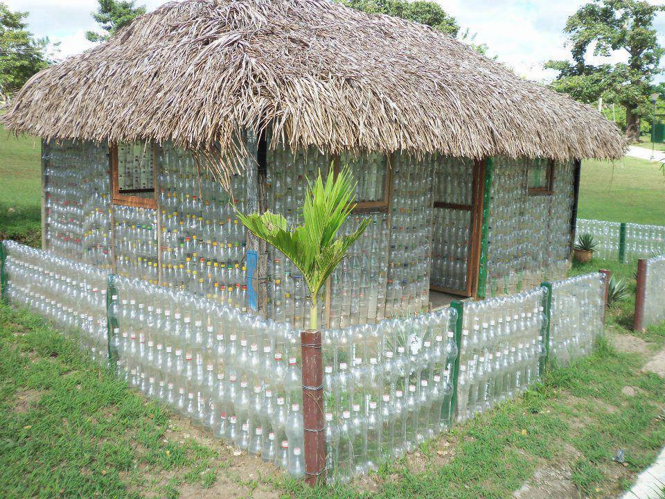 Plastic Bottle House - Architectural Designs on pump house designs, box house designs, playing card house designs, wooden doll house designs, birdhouse house designs, toothpick house designs, miniature house designs, glass house designs, tube house designs, boxcar house designs,