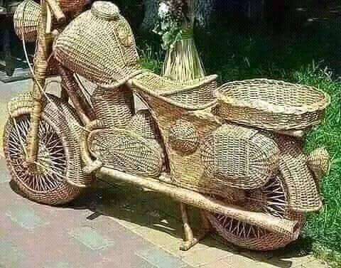 Canewood motorcycle Canewood,motorcycle,handicraft
