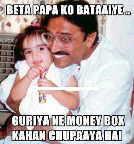 Zardari Loves His Kids Zardari,corruption,funny,Pakistan Peoples Party,president,daughter