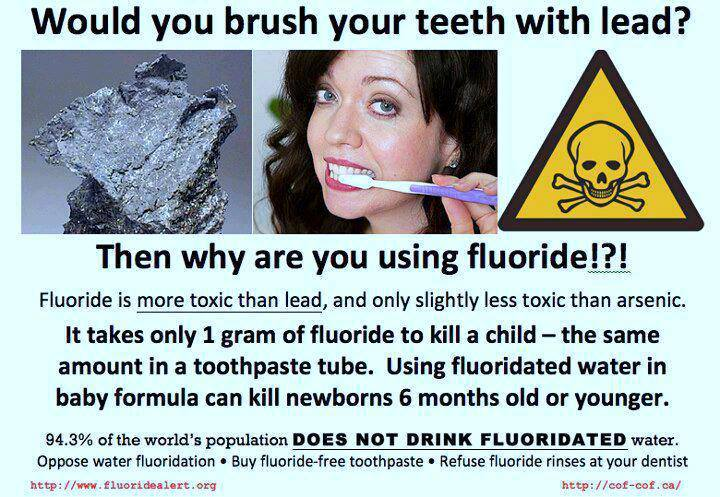Fluoride in Toothpaste and the Lead toothpaste,fluoride,lead,tooth