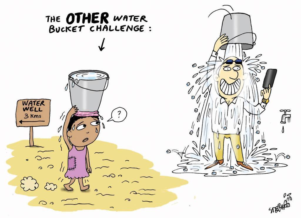 The Other Water Bucket Challenge water,bucket,challenge,contest,hunger,poverty